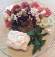 Mediterranean Quinoa Dinner Salad